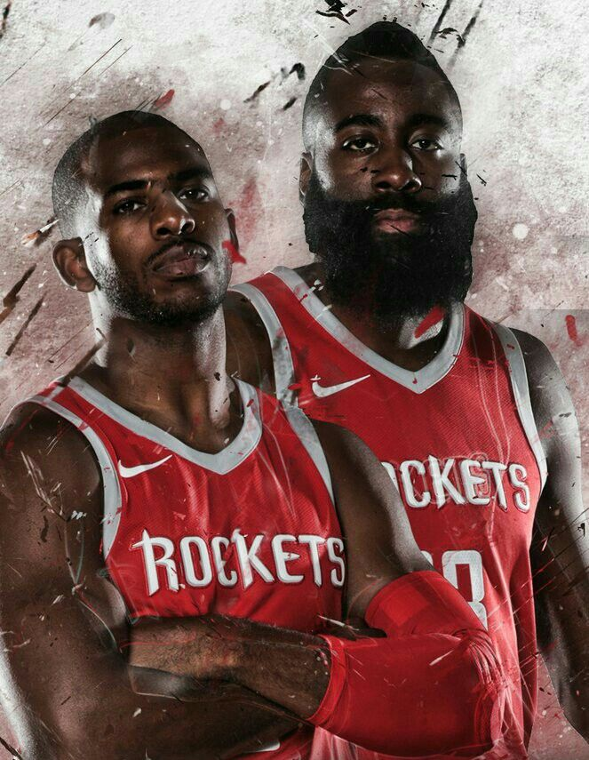Let's Go Rockets !!! Chris Paul and James Harden