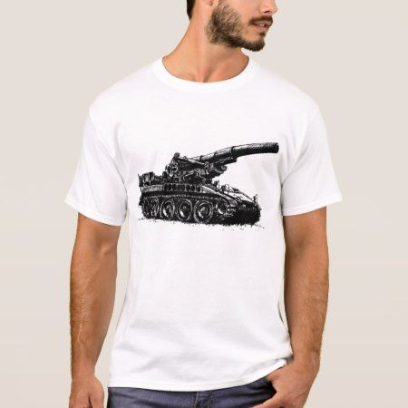 M110 Self-propelled Howitzer T-Shirt - tap, personalize, buy right now!