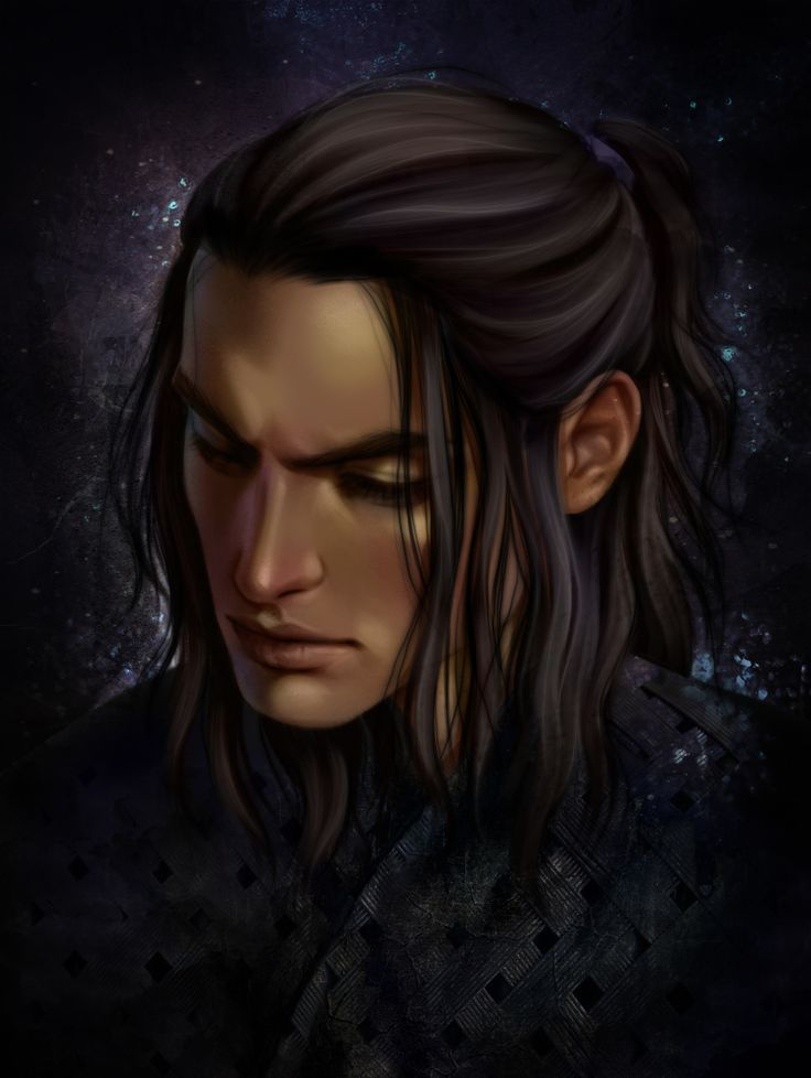 Cassian from a court of thorns and roses series by Sarah J Maas Art by Morgana0anagrom