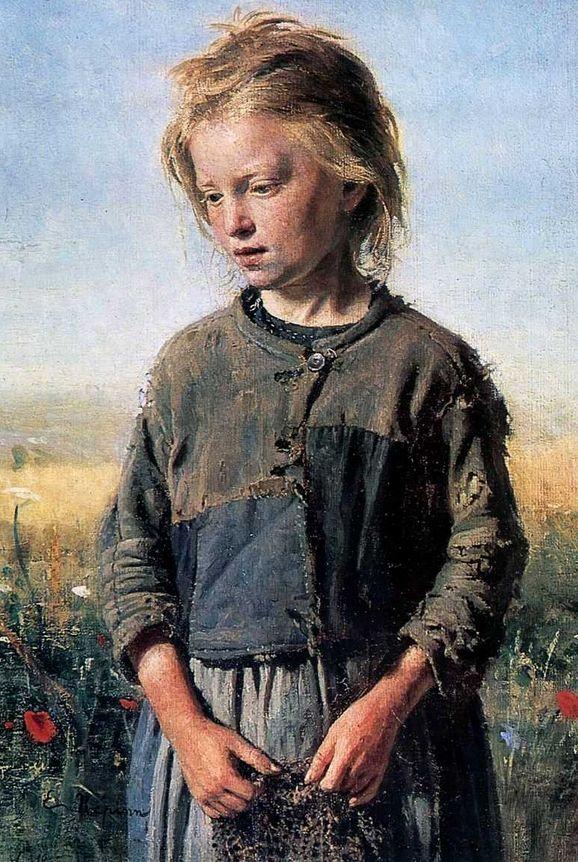 Ilya Repin | Fisher Girl, 1874