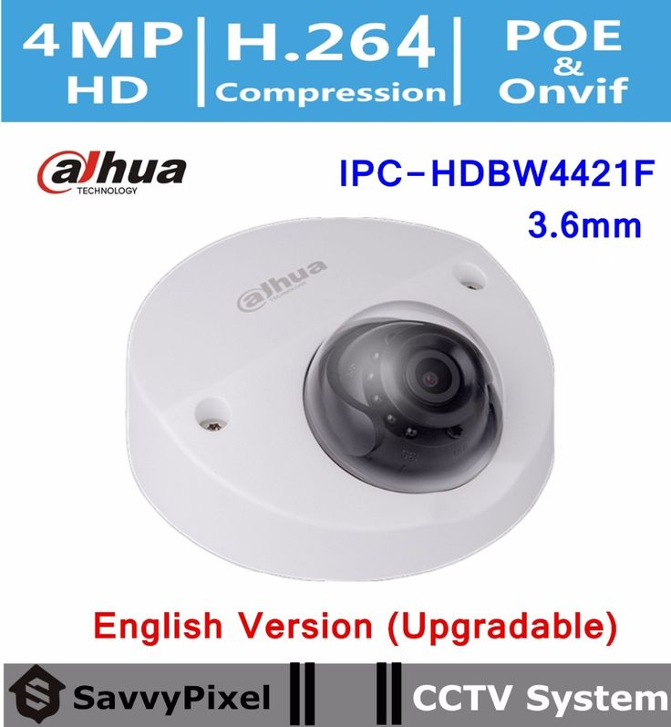 115.00$  Watch now - http://aliv4w.worldwells.pw/go.php?t=32722267646 - DaHua English Firmware CCTV Camera DH-IPC-HDBW4421F 4MP WDR IR 20m IP Security Camera H.264 with Fixed lens 3.6mm