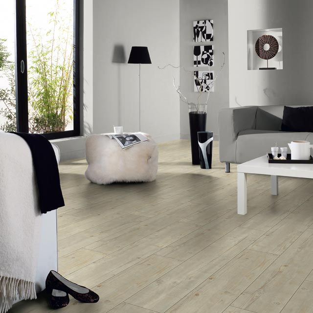 lame pvc clipsables starfloor 50 pine blanc castorama. Black Bedroom Furniture Sets. Home Design Ideas