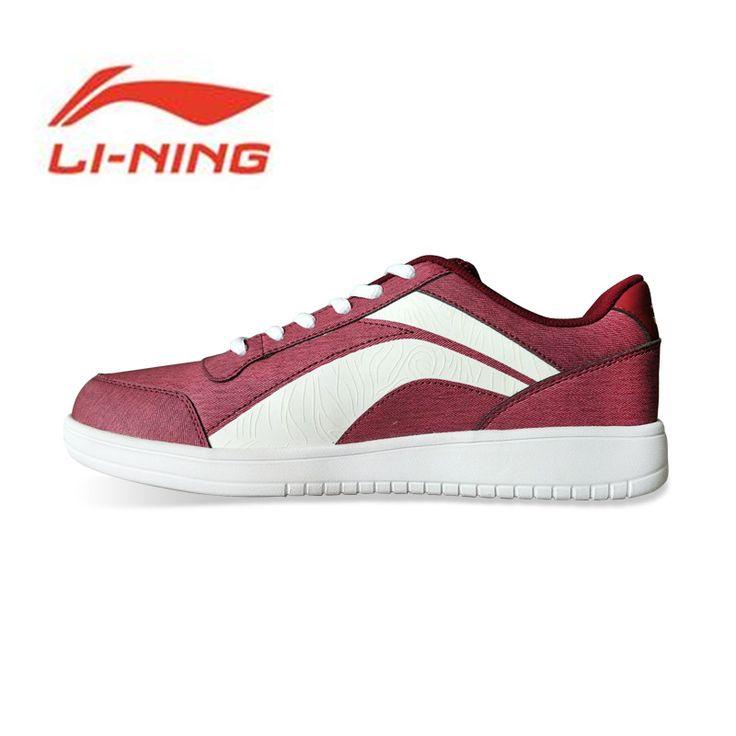 Buy Li Ning Mens Skateboarding Shoes Leisure Walking Shoes Cushion Breathable Lining Heritage Sports #Li #Ning #Shoes