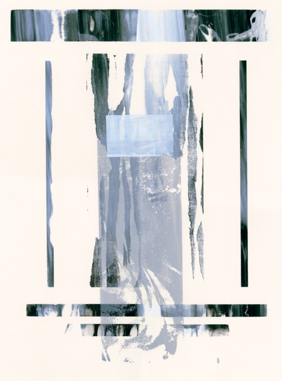 Nina Hartmann, screen print on paper, 22x30