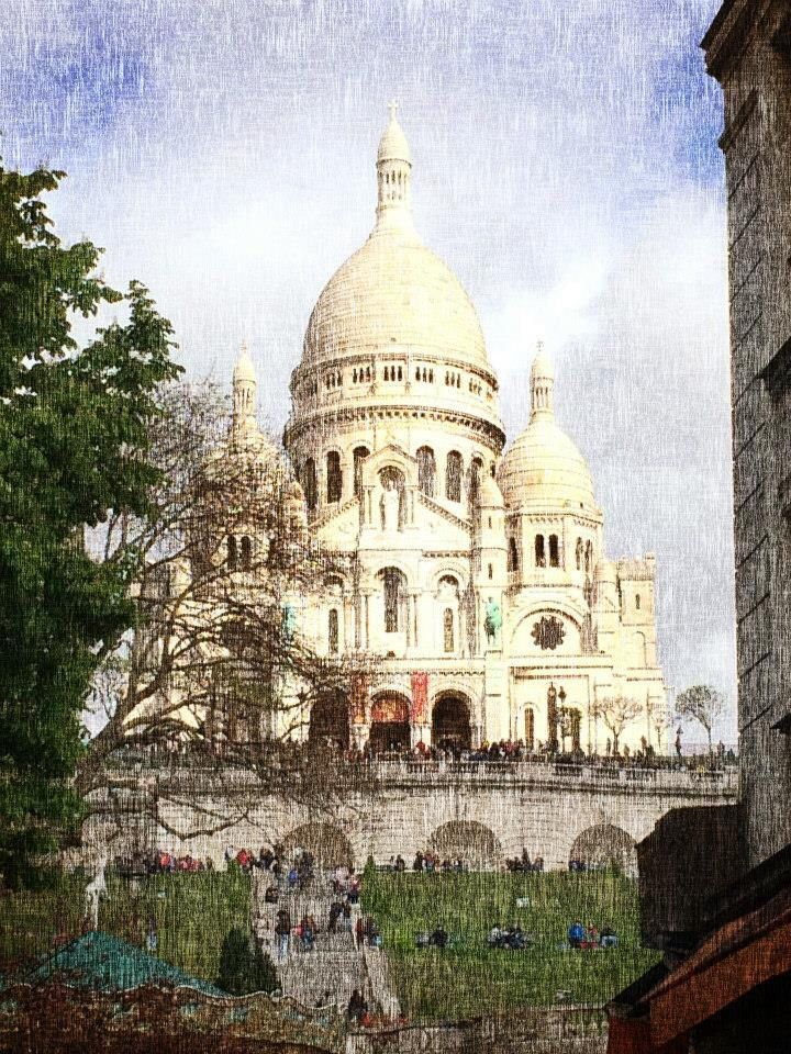 Sacre-Coeur Basilique, Paris. France
