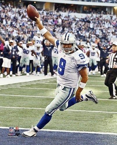 "2012 TONY ROMO Touchdown ""Dallas Cowboys"" LICENSED un-signed poster 8x10 photo"