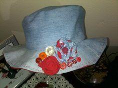 Eski kıyafetleri değerlendirme; şapka dikimi
