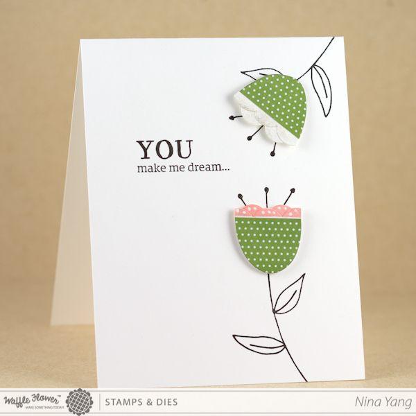 [Tutorial] You Make Me Dream Card