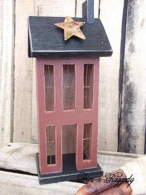 for detail wooden primitive house this 2 story primitive house saltbox ...