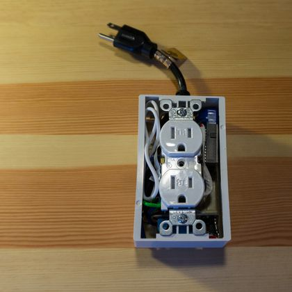 Building a WiFi Outlet #arduino ~~~ For more cool Arduino stuff check out http://arduinoprojecthacks.com