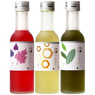 なでしこのお酒 てまり <赤しそ梅酒><蜂蜜梅酒><緑茶梅酒> - 食@新製品 - 『新製品』から食の今と明日を見る!