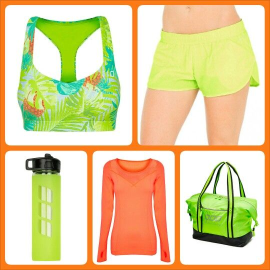 Lorna Jane Wish List - loving the tropical styles teamed up with more brights #ljwishlist @Lorna Jane
