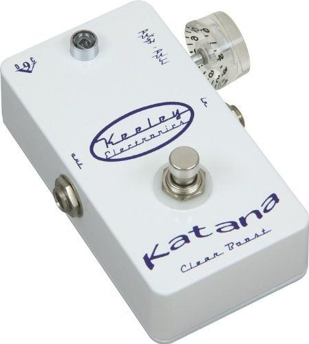 Keeley Katana Pre Amp Guitar Effect Pedal by Keeley. $199.99. Save 20% Off!