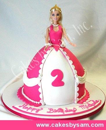 Best Barbie Cake Images On Pinterest Barbie Cake Doll Cakes - Birthday cake doll princess
