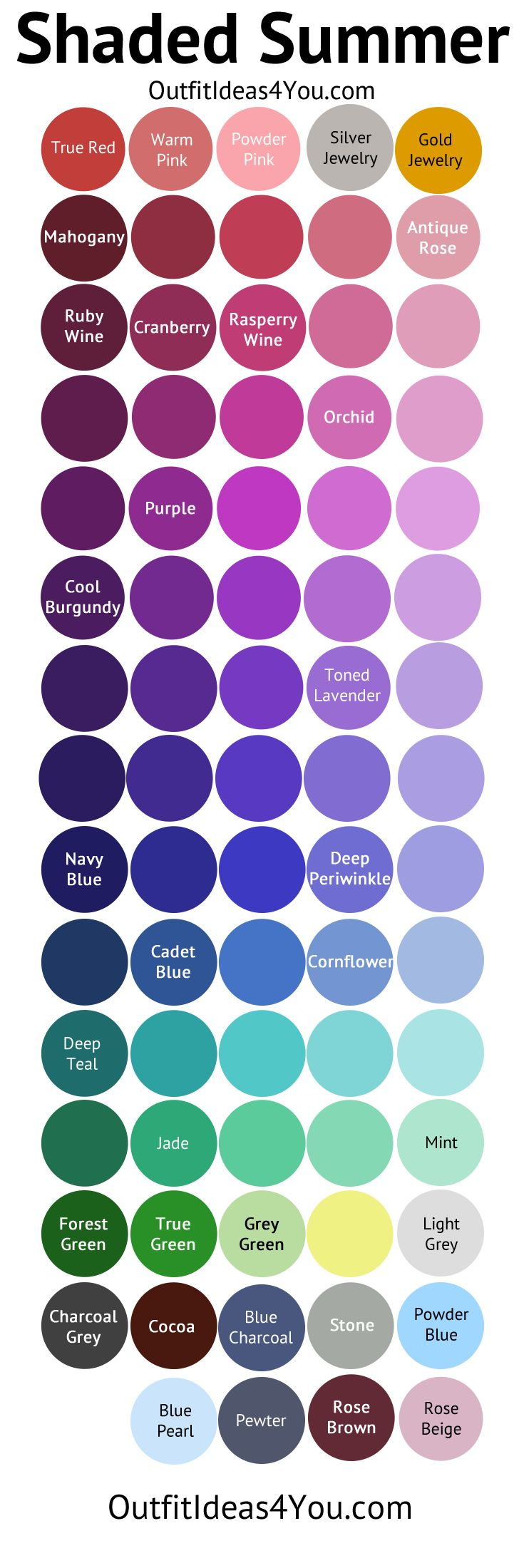 Summer Palette 2018: 17 Best Ideas About Summer Color Palettes On Pinterest