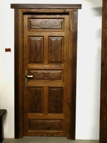Puertas rusticas en madera buscar con google puertas y for Puertas madera rusticas interior