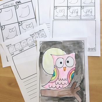This owl directed drawing and associated pages will help you create a fun and creative activity for your class.Choose to do a painting lesson, a drawing or writing activity with the pages!We had a 'super moon' last night here in Australia and this activity will be perfect to celebrate!Find more DIRECTED DRAWING packets in my store HERE