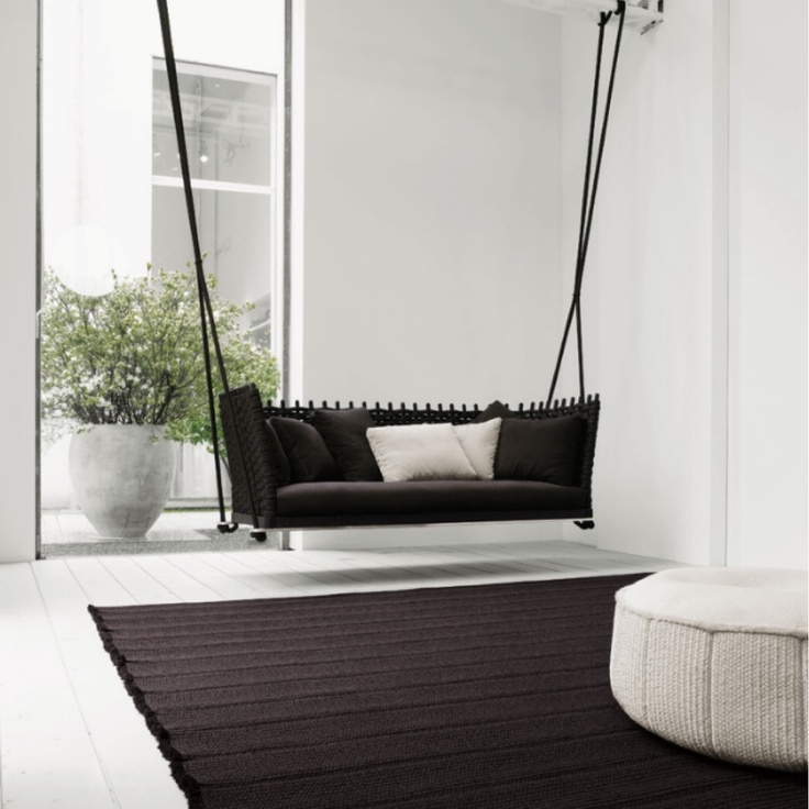 54 best images about indoor swings on pinterest hanging for Hanging bed indoor