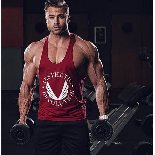 Golds Gym Stringer Tank Top Men Bodybuilding Clothing and Fitness Mens  Sleeveless Shirt Sports Vests Cotton Singlets Muscle Tops ccbb94b7be437