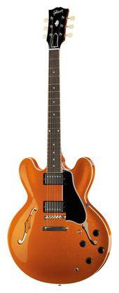 Gibson ES335 59 Navelina Gold Sparkle #Thomann