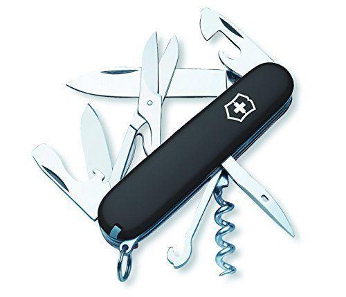 Original Swiss Army Climber Pocket Knife 13 Tools Blades Screwdriver Scissors #Victorinox