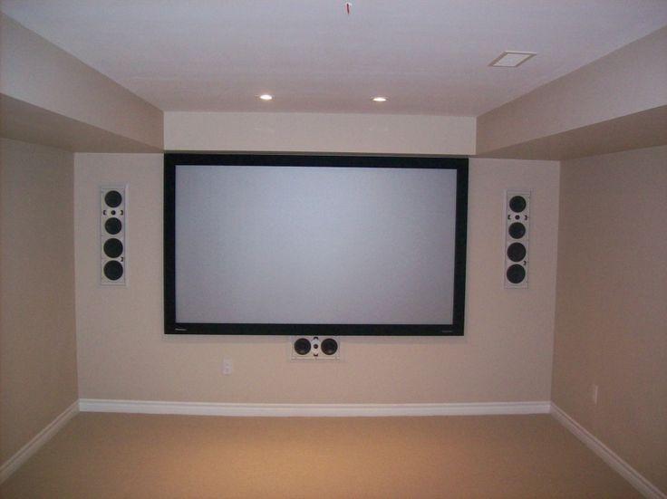 Basement Home Theater Rooms Design ~ Http://lovelybuilding.com/cheap