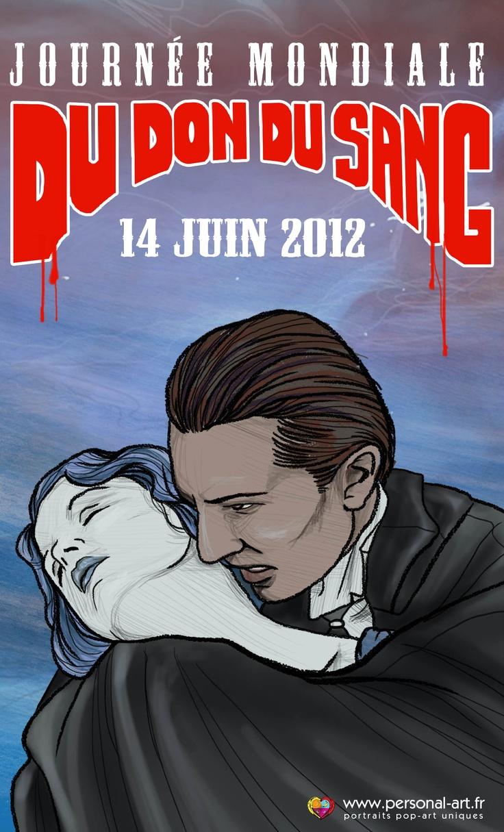 Journée Mondiale du Don du Sang  14 juin 2012  par www.personal-art.fr