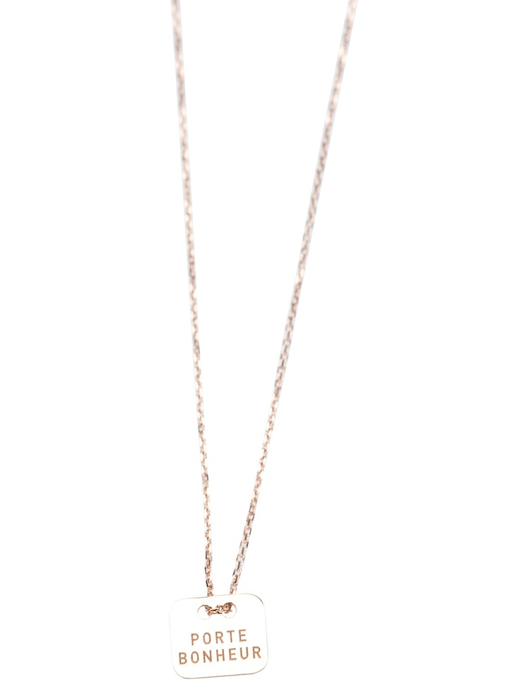 Vanrycke  rose gold necklace