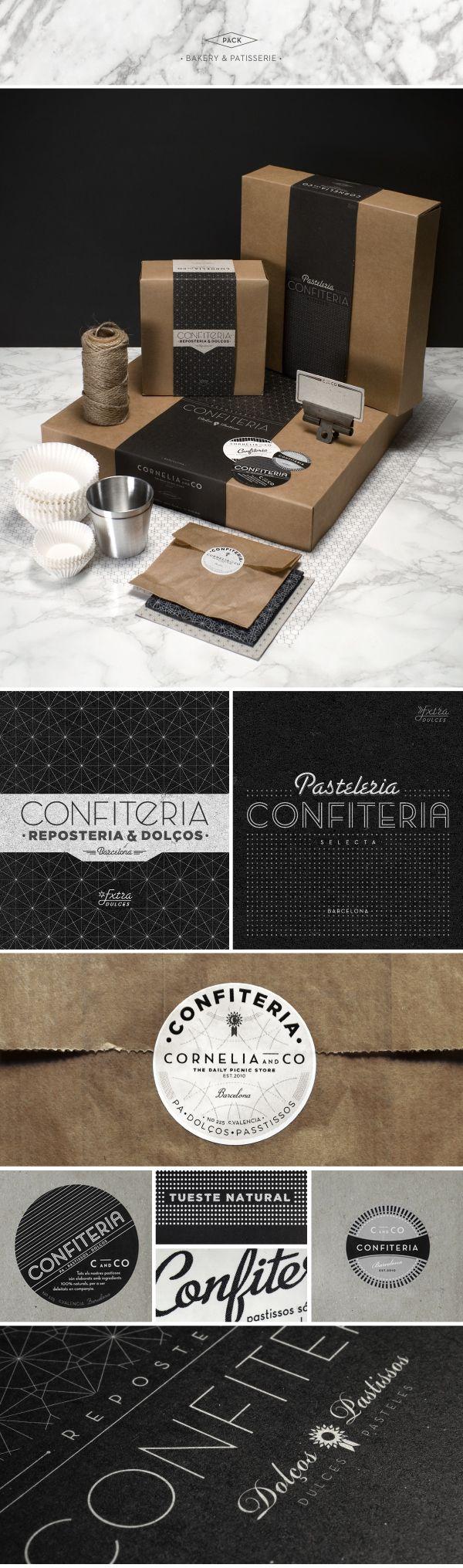 CORNELIA and CO [ Brand identity & Packaging ] by Oriol Gil, via Behance   #stationary #corporate #design #corporatedesign #identity #branding #marketing < repinned by www.BlickeDeeler.de   Take a look at www.LogoGestaltung-Hamburg.de