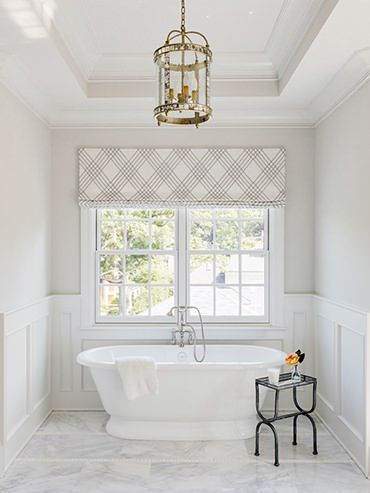 Love the roman shade. 17 Best images about Window Blind Inspiration on Pinterest