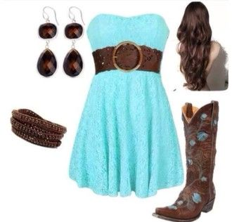 dress blue dress red dress cute lovely belt brown belt earrings cowboy boots boots cowboy cowboy dress colorful leggings shoes jewels
