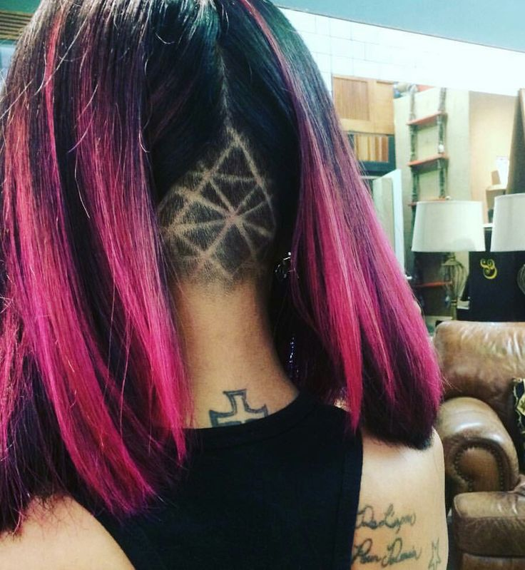 Geometric undercut designs