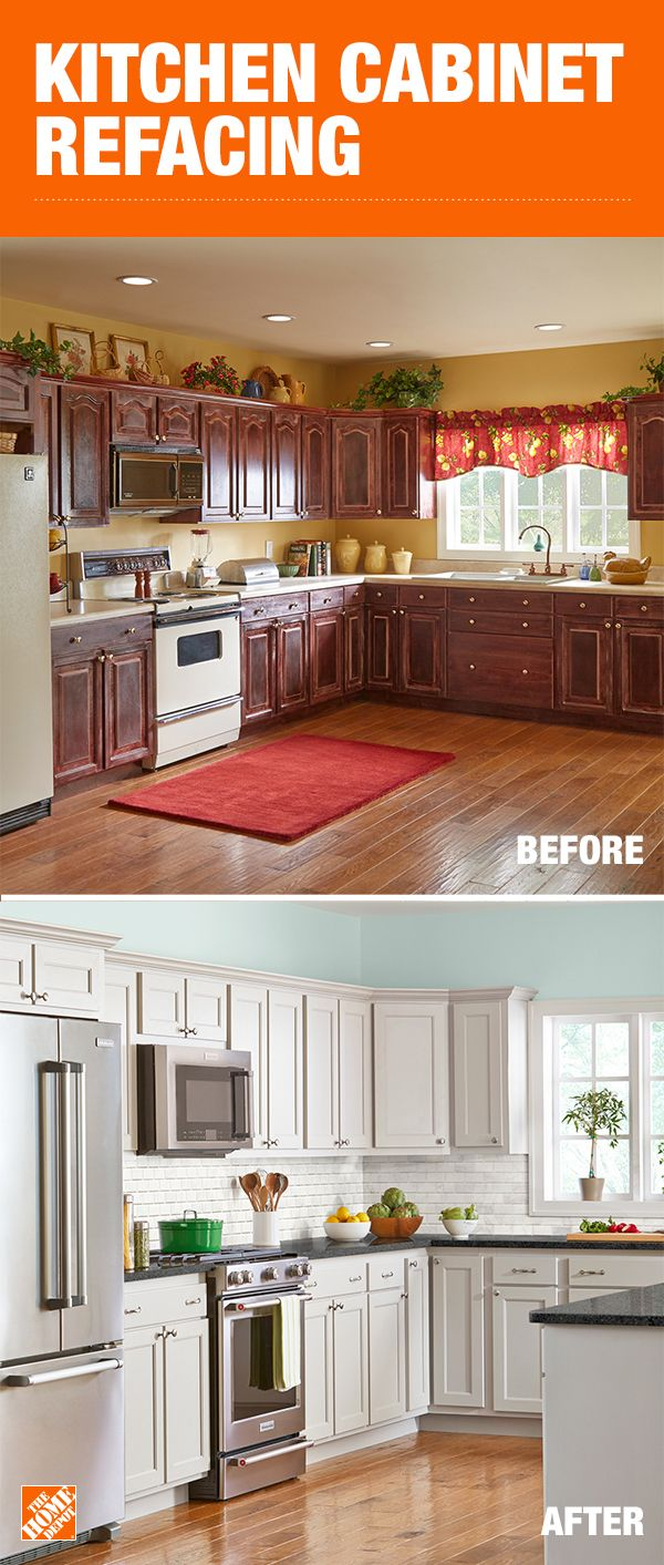 Refacing your kitchen cabinets is like giving your kitchen a ...