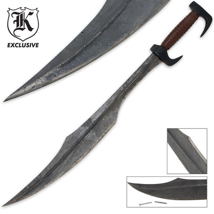 300 Spartan Warrior Replica Sword | BUDK.com - Knives & Swords At ...