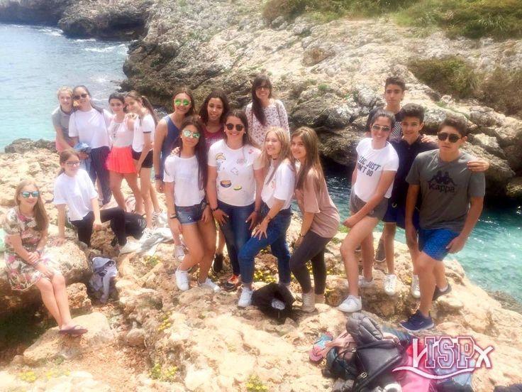 #SecundariaISP en las cuevas del Drach. Comida en cala Murta donde han disfrutado de un precioso paisaje.  ✈️ #MallorcaISP @visit_mallorca