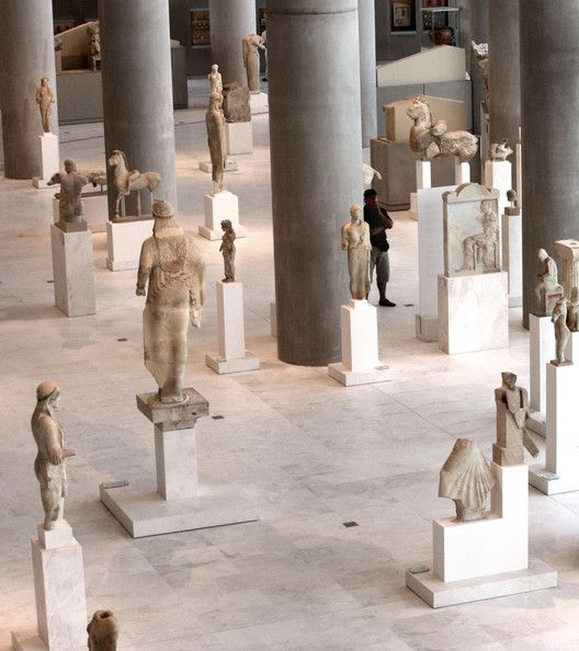 Ancient statues and monuments at the #Acropolis museum of #Athens are glorifying pieces of #ancientGreekart and #history  #visitathens #athenstour