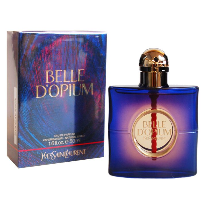 Belle d`Opium is the new addiction by Yves Saint Laurent; a fragrance that is a disconcertingly bewitching new oriental. It is a true olfactory manifesto and a profusion of rare and precious ingredients: Casablanca Lily blends with spicy Incense and mysterious overtones of a Nargileh accord.Top notes: mandarin, Casablanca lily, gardenia, jasmine. Heart: incense, peach, white pepper, tobacco, hookah accord, fruity notes. Base: amber, sandalwood, patchouli, smoky notes.