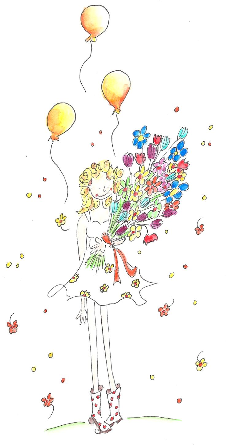 Een bloemetje voor jou!