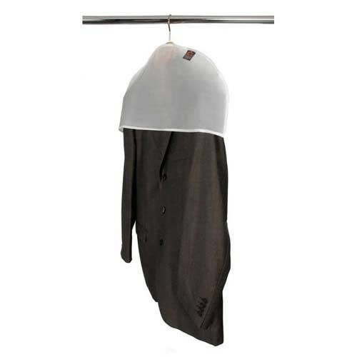 The #Peva Shoulder Protector Cover for the suits in your wardrobe. These #clothescovers will protect your jackets from dust for a long time and are suitable for wardrobe hanging and also hanging on a clothes rail. http://www.caraselledirect.com/_/1_pack_of_5_protective_shoulder_covers_for_jackets.280-1