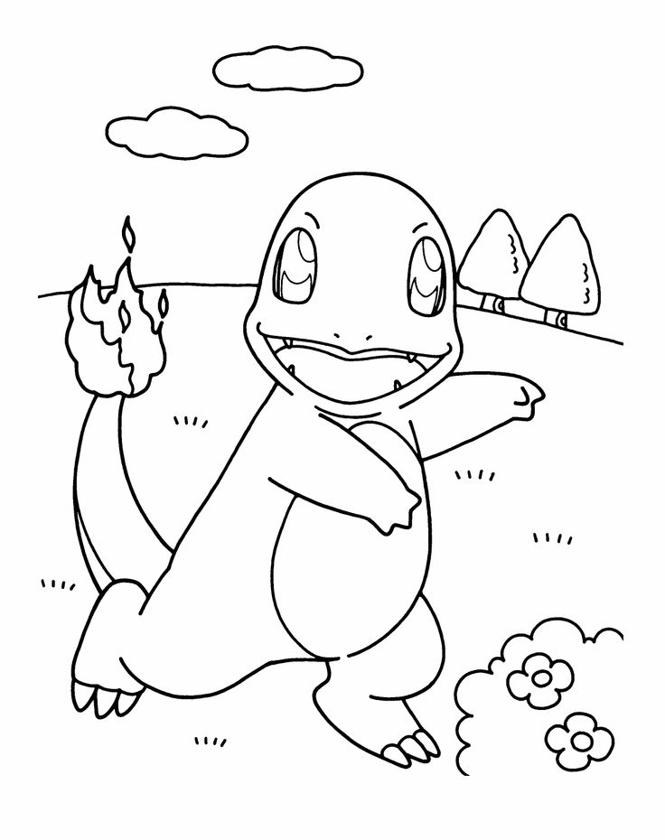 cute pokemon pikachu coloring pages - photo#31