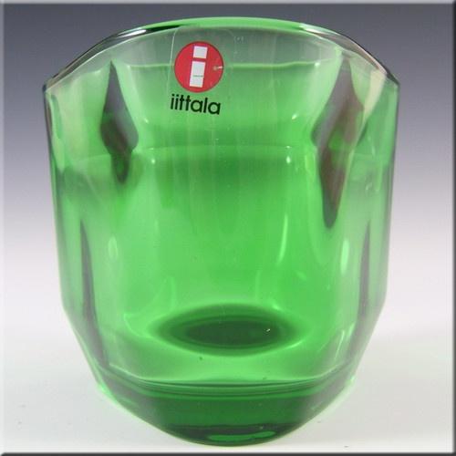Iittala Green Glass Alfredo Häberli Candle Votive/Bowl £24.99