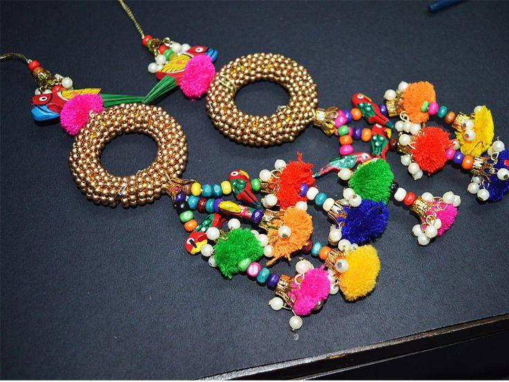 Handmade Tribal Gypsy Cotton decorative by shopofembellishments