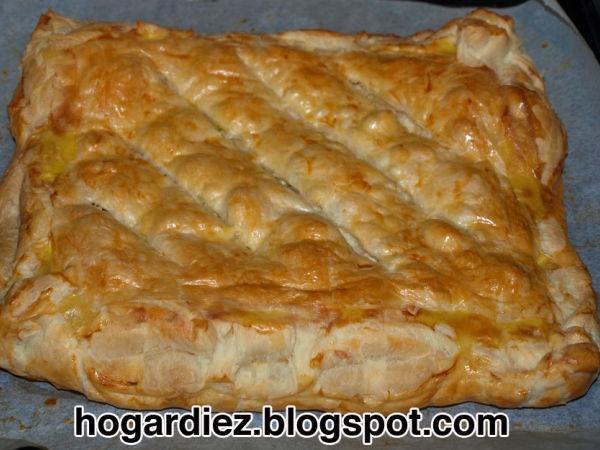 Primeros  Empanada de hojaldre Pollo: Meat, Mis Recetas, Recipe, Recipes, Receta Empanada, Puff, Kitchen