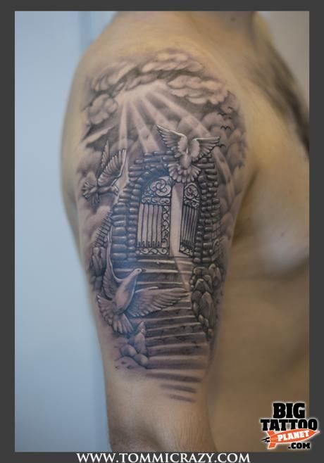pearly gates tattoo - Google Search