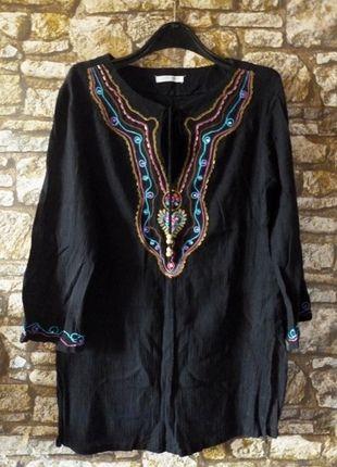 Kup mój przedmiot na #vintedpl http://www.vinted.pl/damska-odziez/tuniki/2966428-czarna-tunika-cekiny