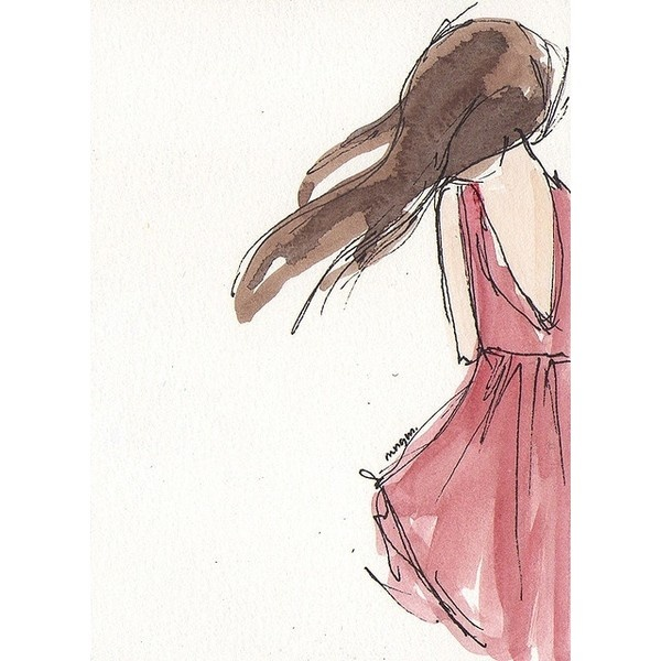 Girl in the red dress by noemi manalang on Flickr. ❤ liked on Polyvore
