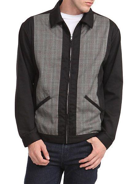 1950s Mens Gabardine Jacket  http://www.vintagedancer.com/1950s/1950s-mens-clothing/