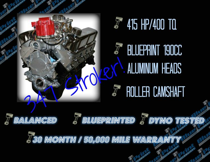 8 best 400 hp crate engines images on pinterest barrel boxes if you have a tuckered out 289 or 302 and are looking to move up to a stroker ford small block blueprint engines has a 347 for you malvernweather Gallery