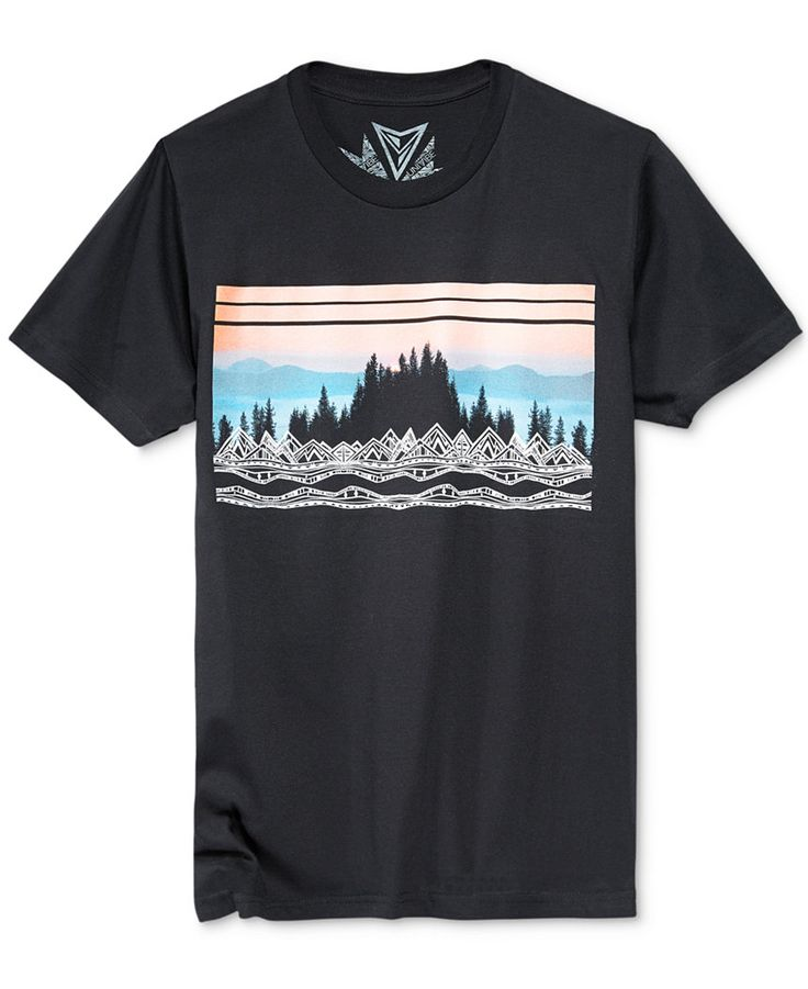 Univibe Men's Campground Graphic-Print T-Shirt - T-Shirts - Men - Macy's