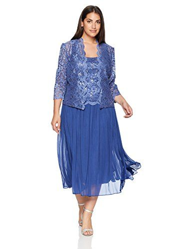 0c4dd689eec The perfect Alex Evenings Women s Plus-Size Mock Lace Jacket Dress with  Full Skirt womens fashion clothing.   122.11 - 229.00  topbrandsclothing  from top ...
